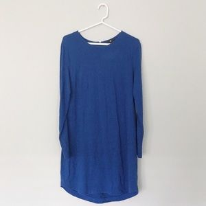 H&M Woman's Blue T-Shirt Dress